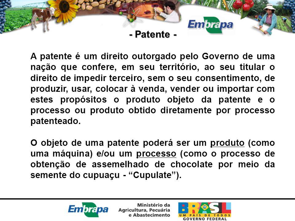 - Patente -