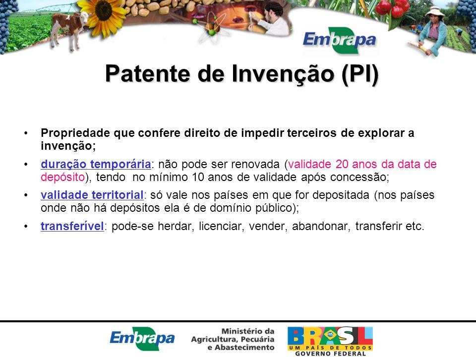 Patente de Invenção (PI)