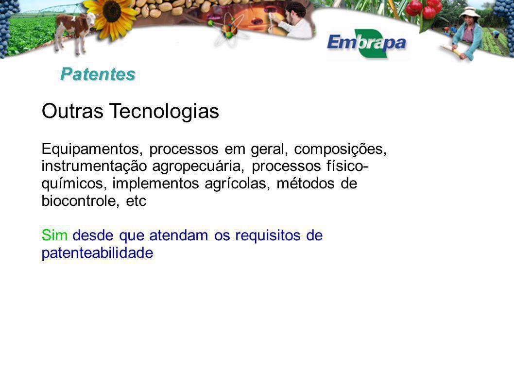 Outras Tecnologias Patentes