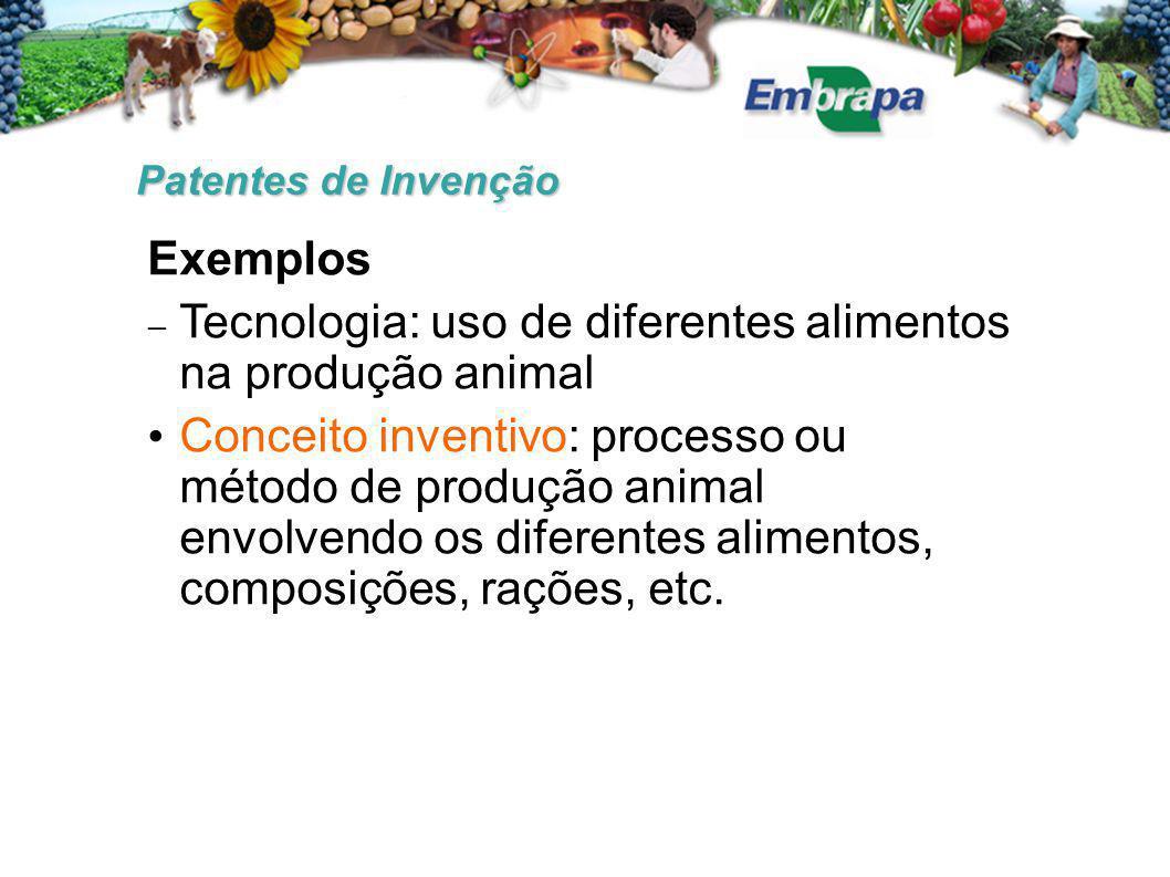 Tecnologia: uso de diferentes alimentos na produção animal