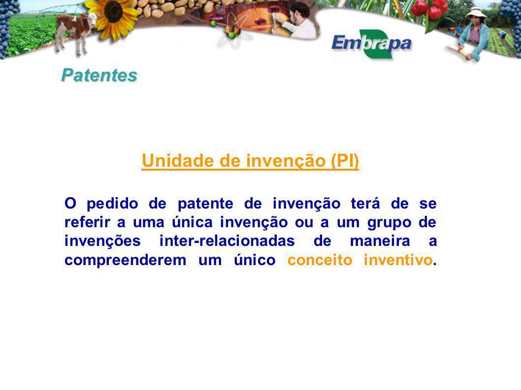 Unidade de invenção (PI)