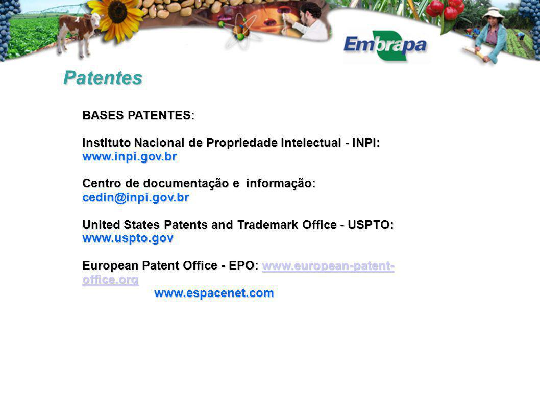 Patentes BASES PATENTES: