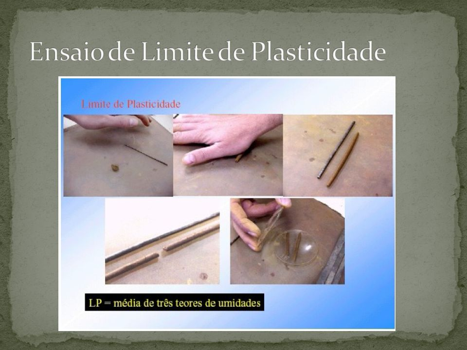 Ensaio de Limite de Plasticidade