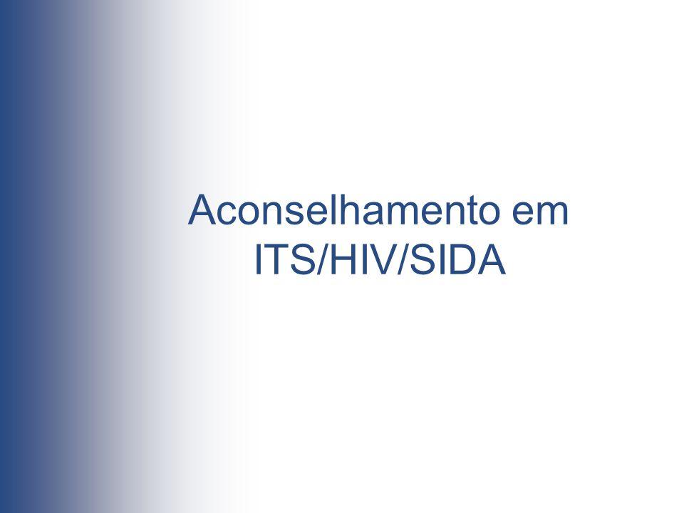 Aconselhamento em ITS/HIV/SIDA