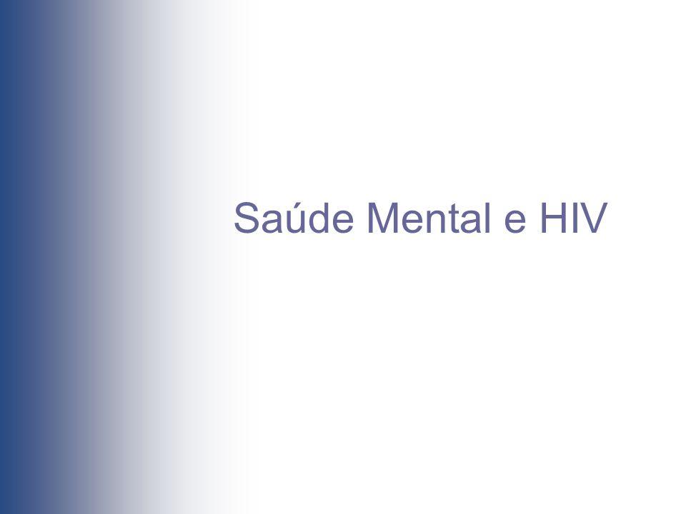 Saúde Mental e HIV