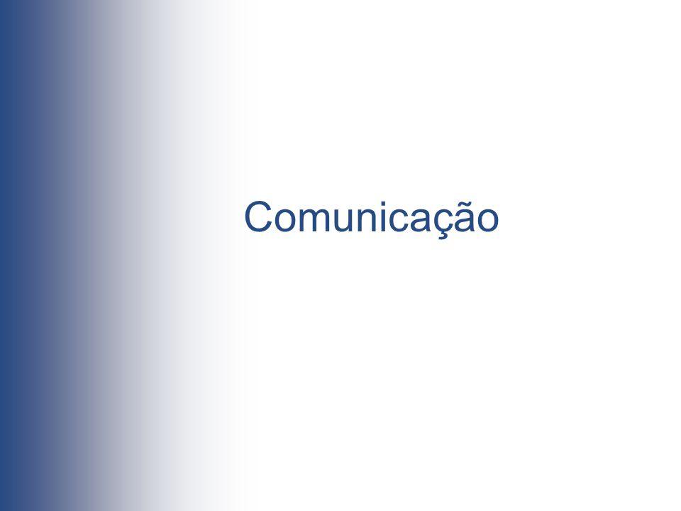 Comunicação O tipo de comunicação estabelecida entre profissionais e utentes é um dos aspectos mais importantes do atendimento;
