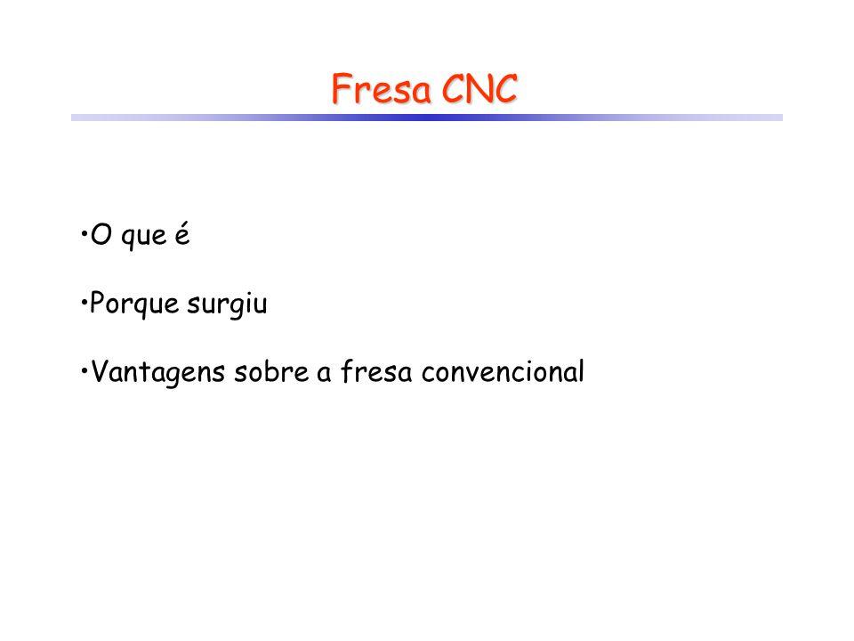 Fresa CNC O que é Porque surgiu Vantagens sobre a fresa convencional