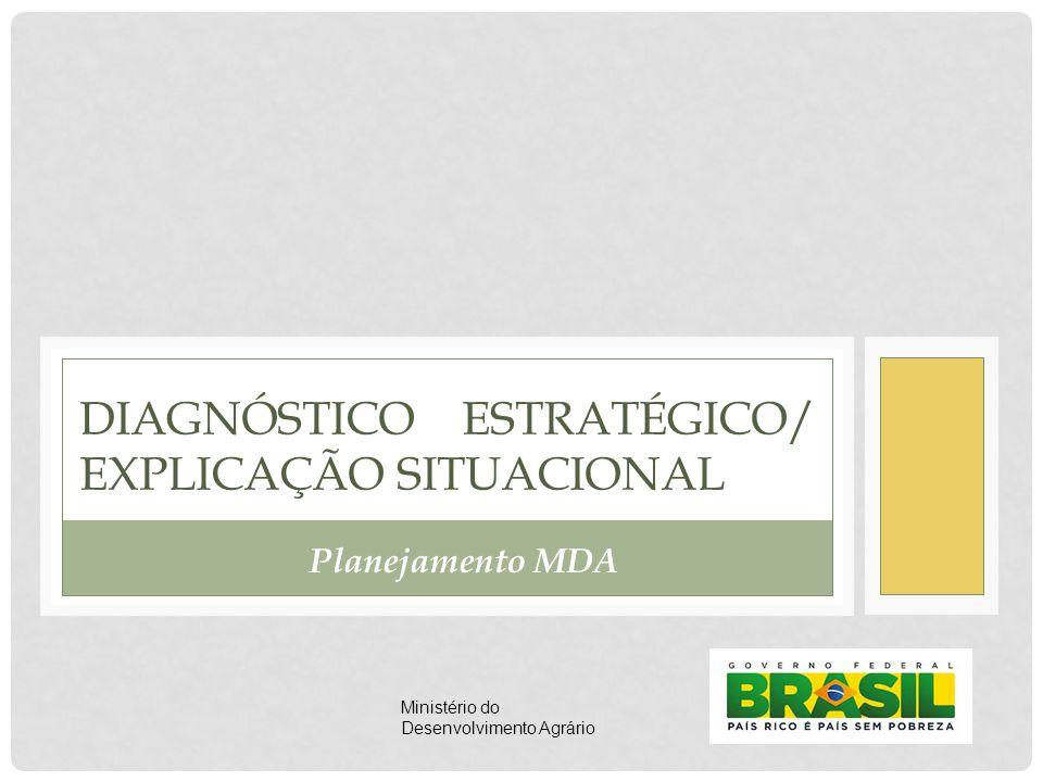 DIAGNÓSTICO ESTRATÉGICO/ EXPLICAÇÃO SITUACIONAL