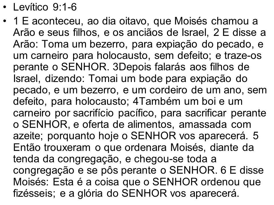 Levítico 9:1-6
