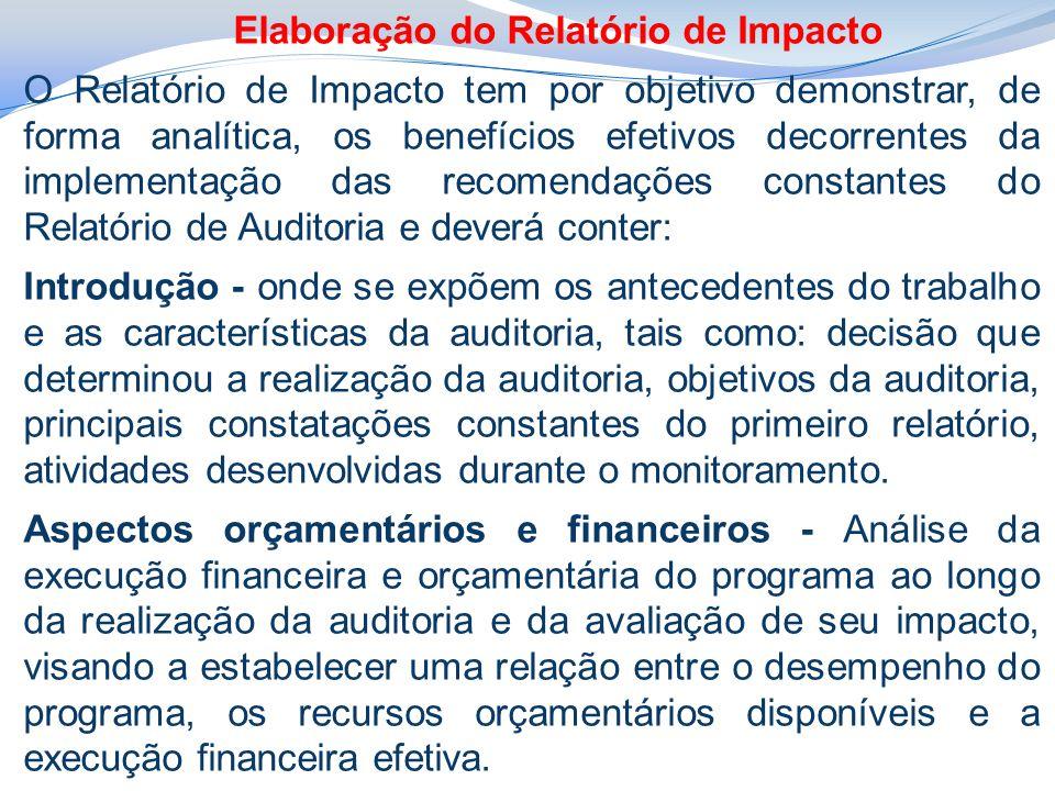 Elaboração do Relatório de Impacto
