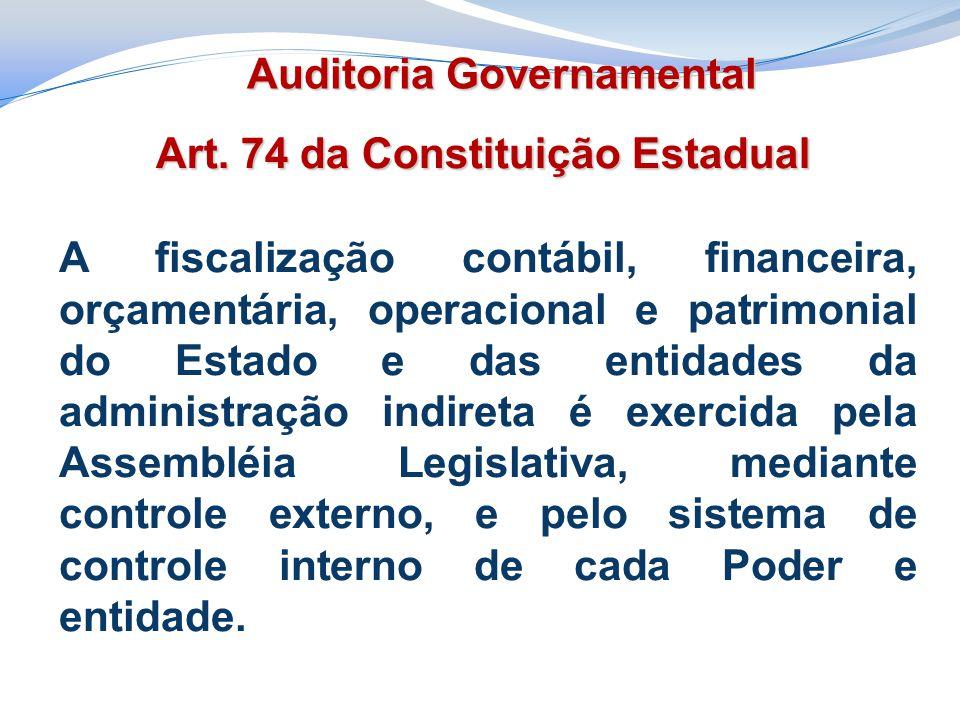 Art. 74 da Constituição Estadual