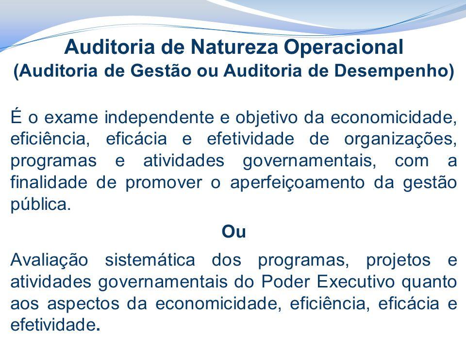 Auditoria de Natureza Operacional