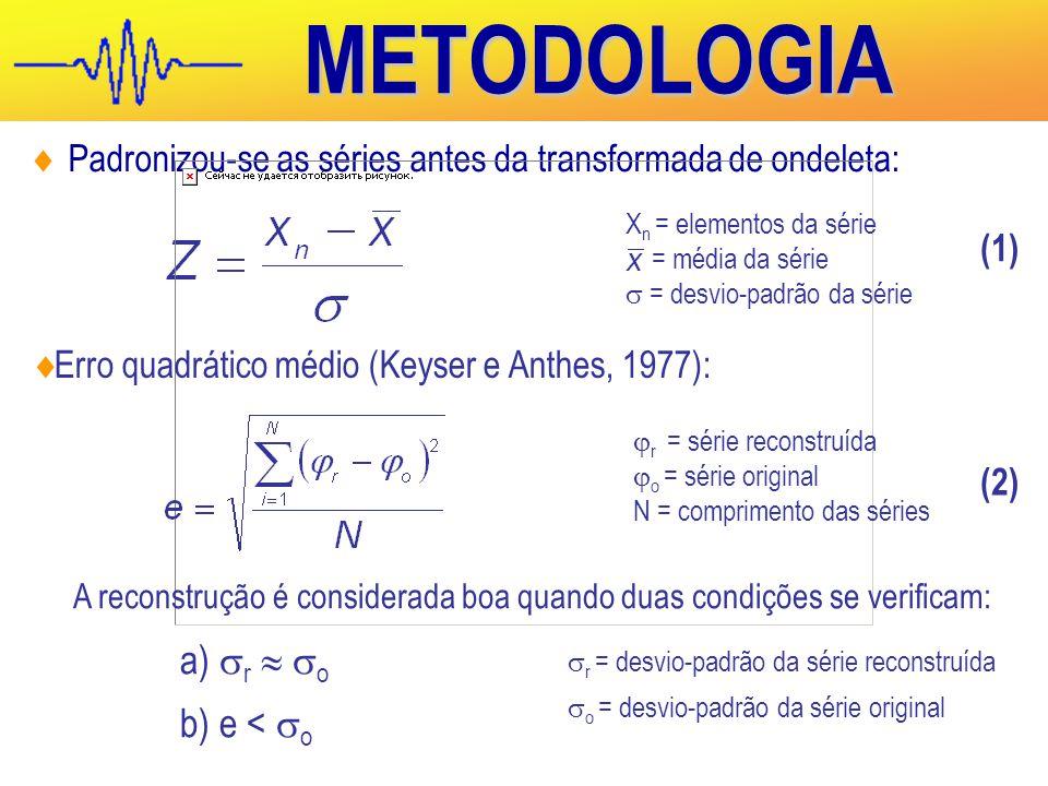METODOLOGIA r  o e < o