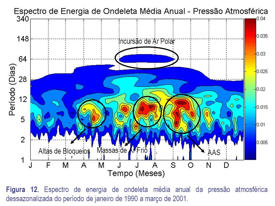 Incursão de Ar Polar AAS. Massas de Ar Frio. Altas de Bloqueios.