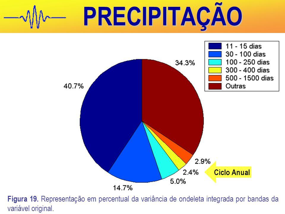 PRECIPITAÇÃO Ciclo Anual