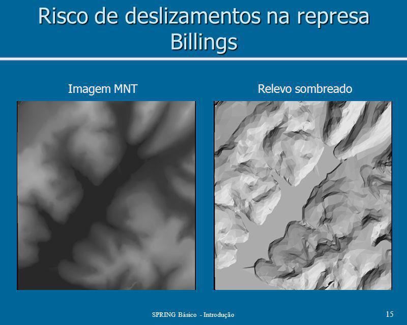Risco de deslizamentos na represa Billings