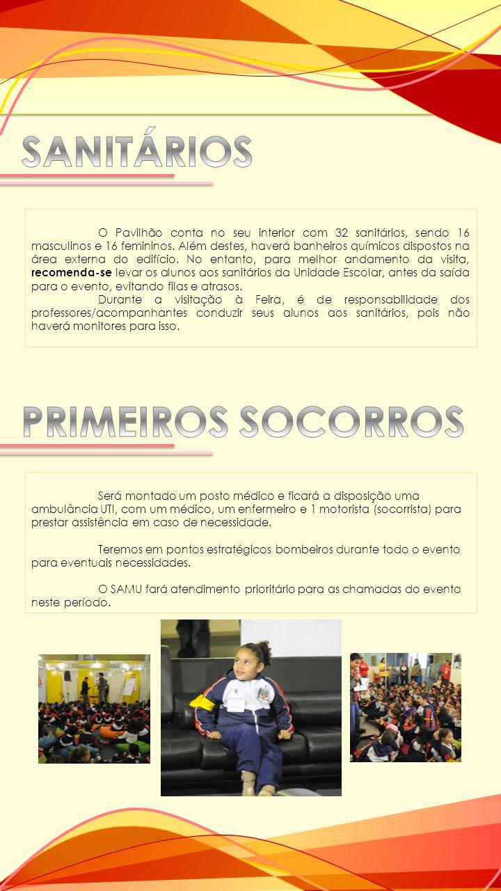 SANITÁRIOS PRIMEIROS SOCORROS