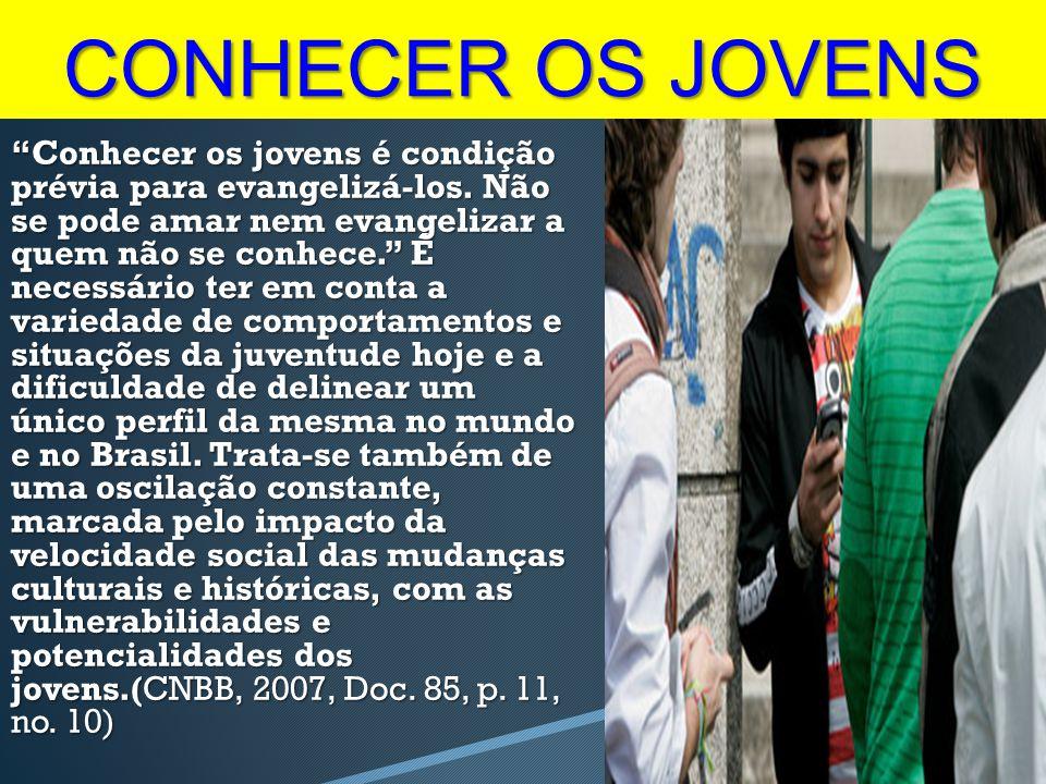 CONHECER OS JOVENS