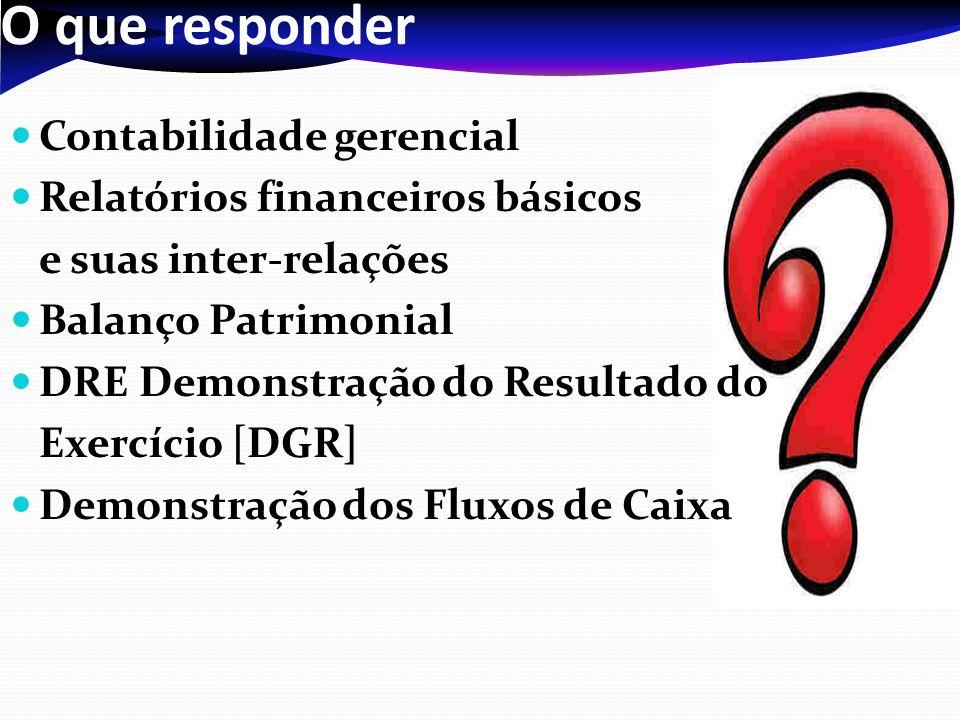 O que responder Contabilidade gerencial Relatórios financeiros básicos