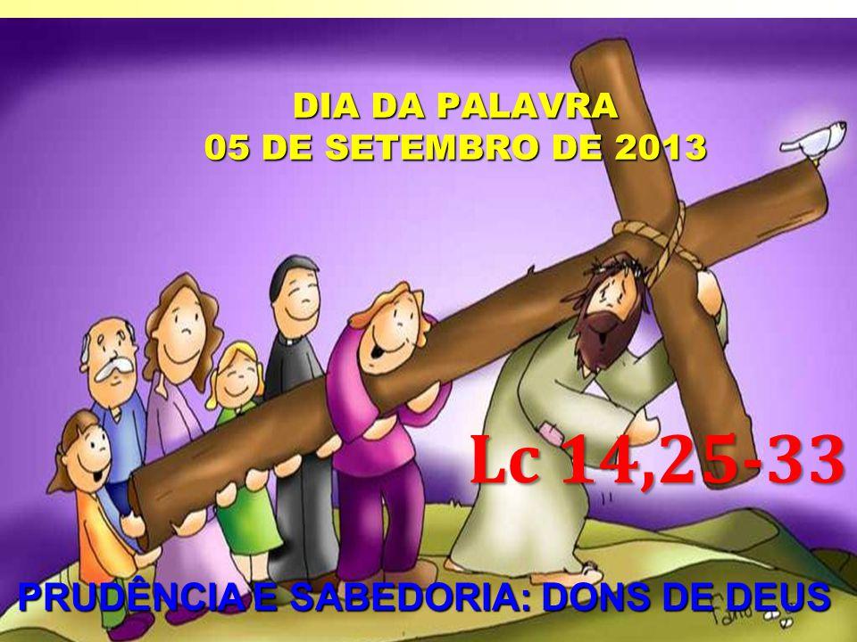 DIA DA PALAVRA 05 DE SETEMBRO DE 2013
