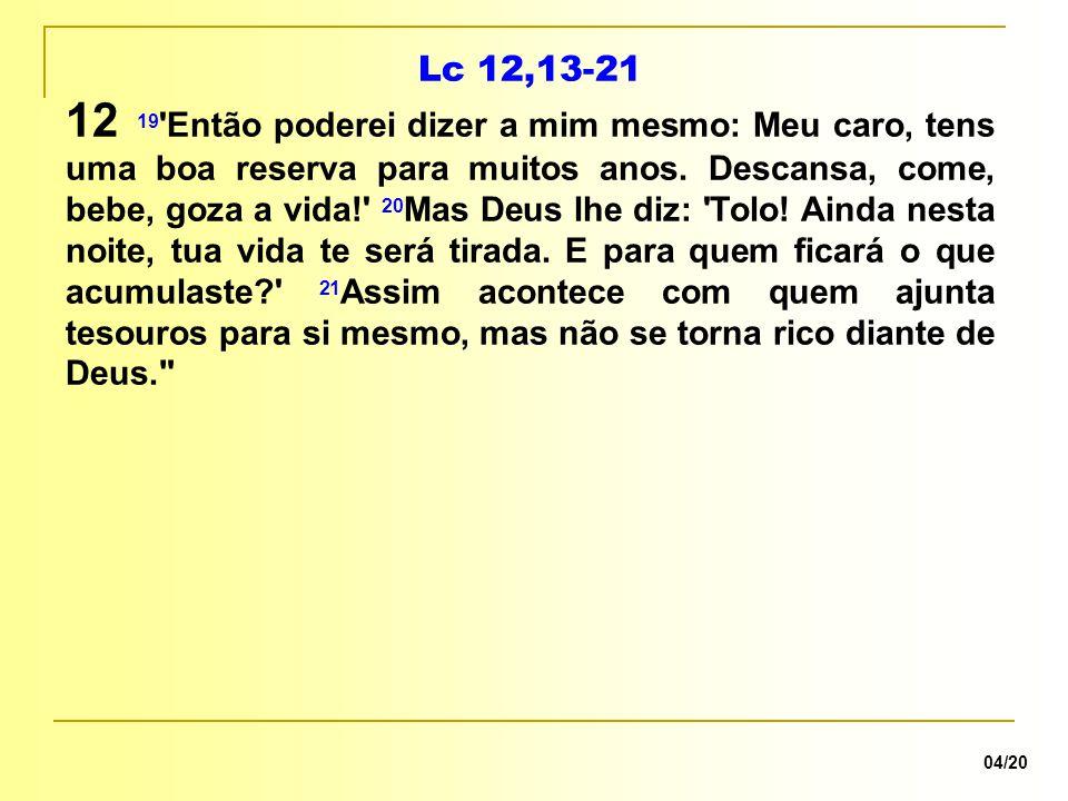 Lc 12,13-21