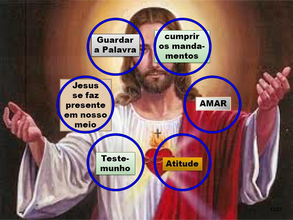 Jesus se faz presente em nosso meio