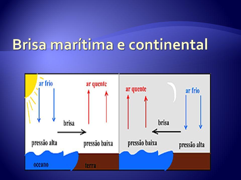 Brisa marítima e continental