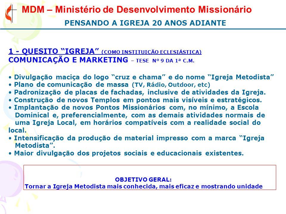 MDM – Ministério de Desenvolvimento Missionário