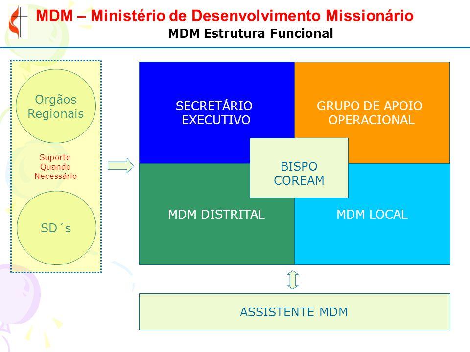 MDM Estrutura Funcional