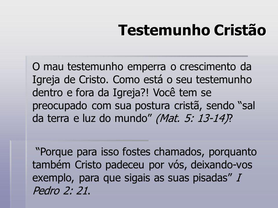 Testemunho Cristão