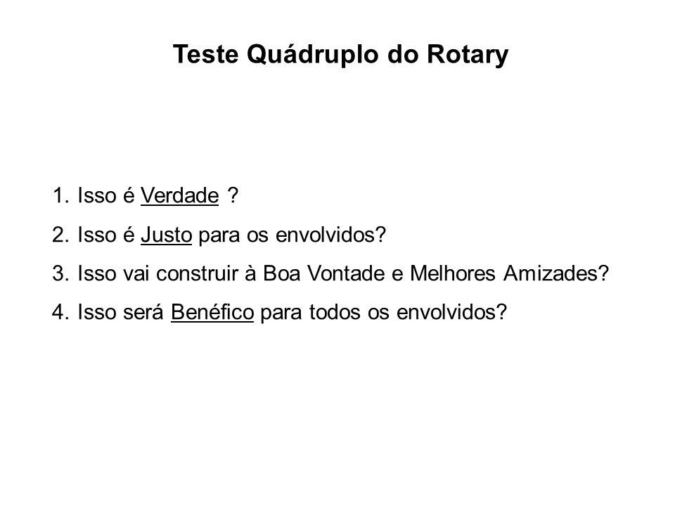 Teste Quádruplo do Rotary