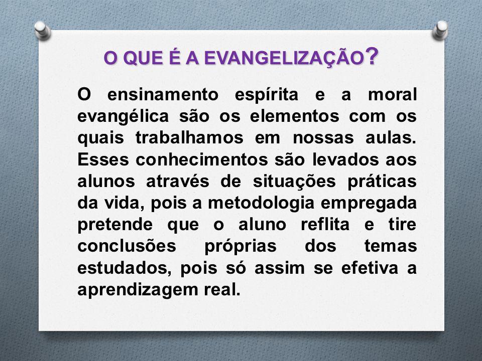 O QUE É A EVANGELIZAÇÃO