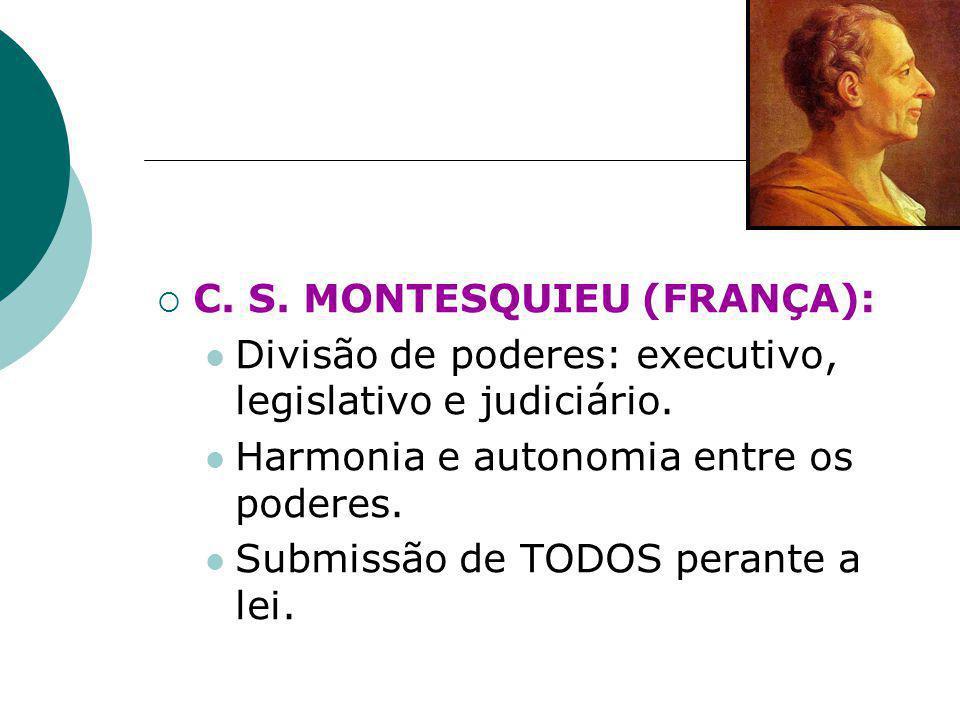 C. S. MONTESQUIEU (FRANÇA):