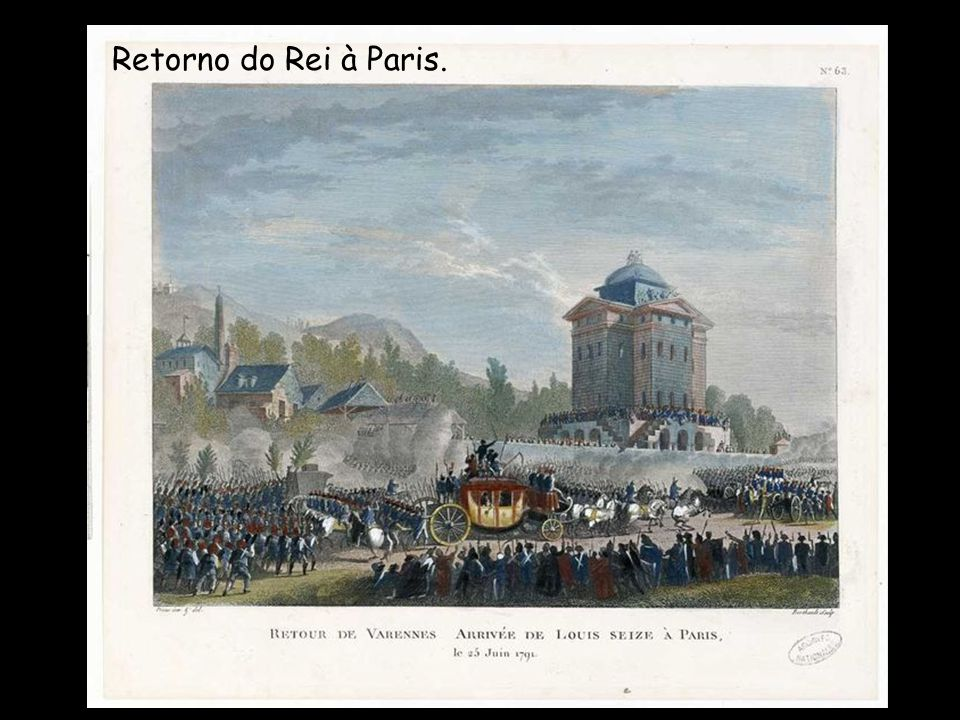 Retorno do Rei à Paris.