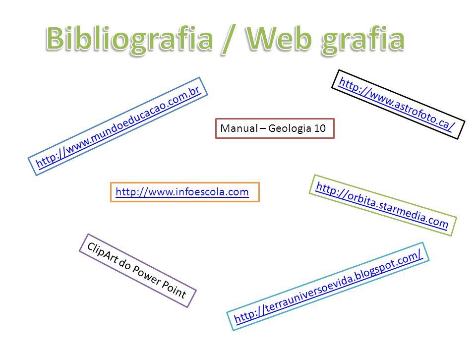 Bibliografia / Web grafia