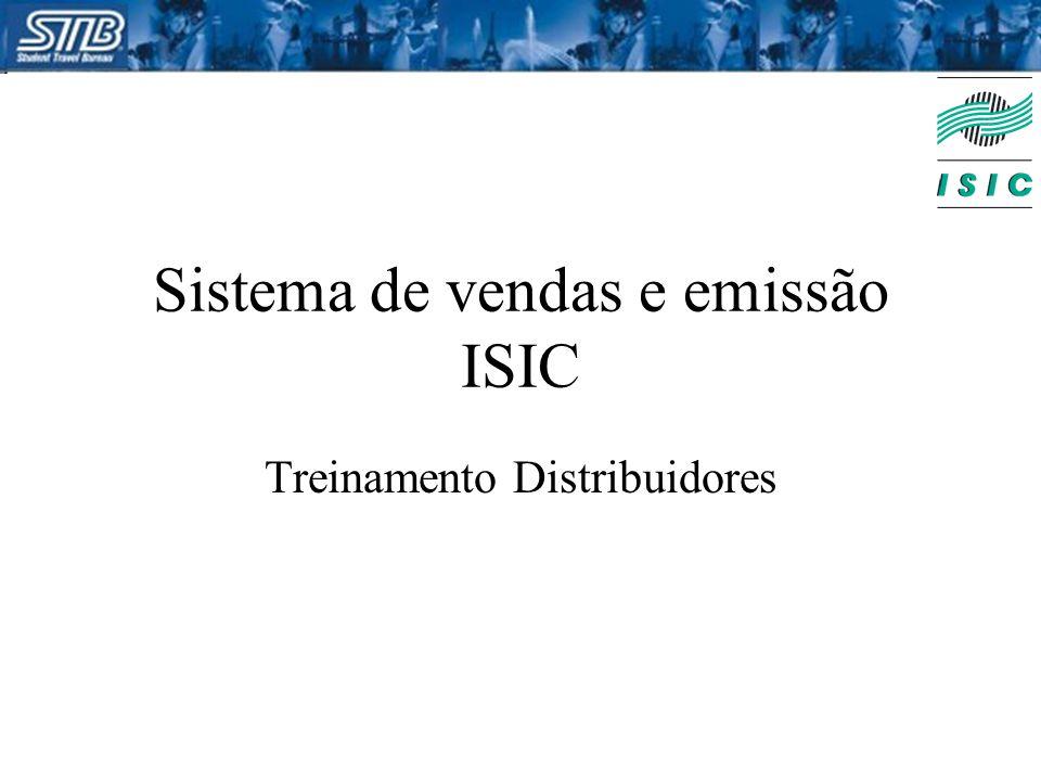 Sistema de vendas e emissão ISIC