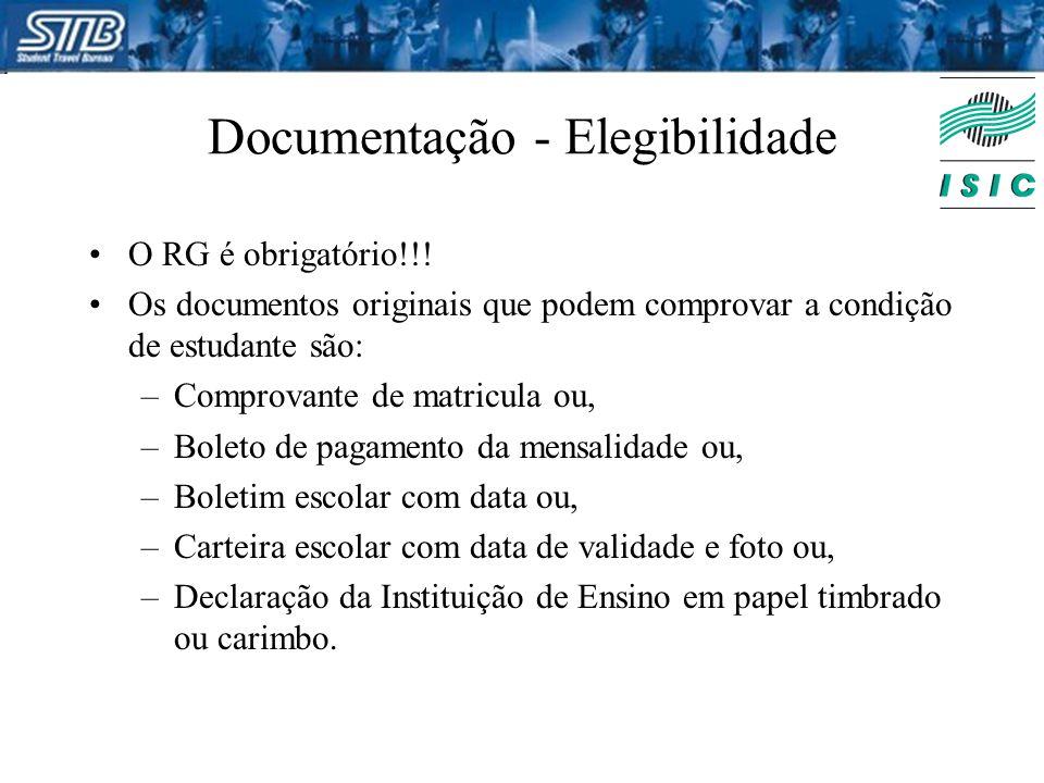 Documentação - Elegibilidade