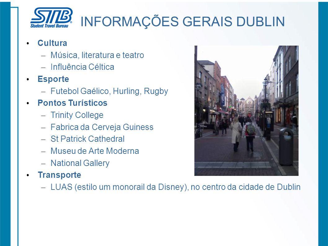 INFORMAÇÕES GERAIS DUBLIN