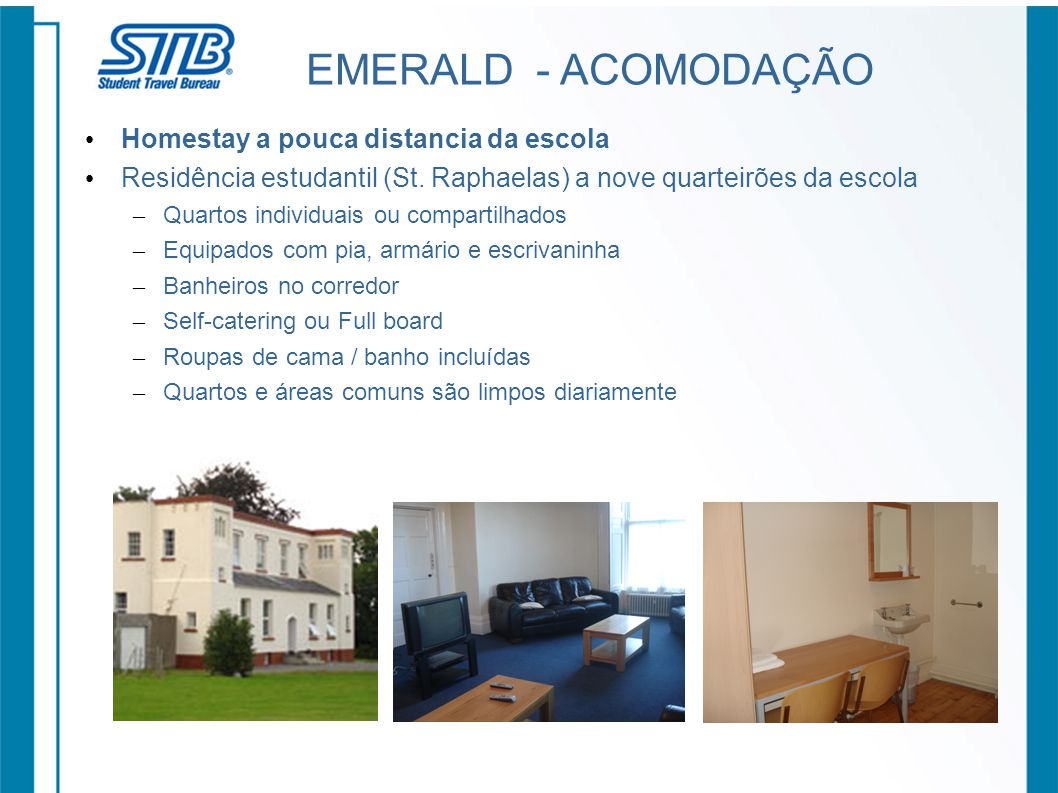 EMERALD - ACOMODAÇÃO Homestay a pouca distancia da escola