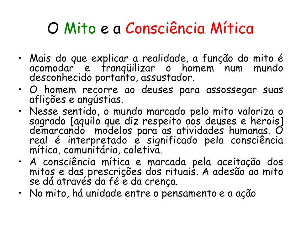 O Mito e a Consciência Mítica
