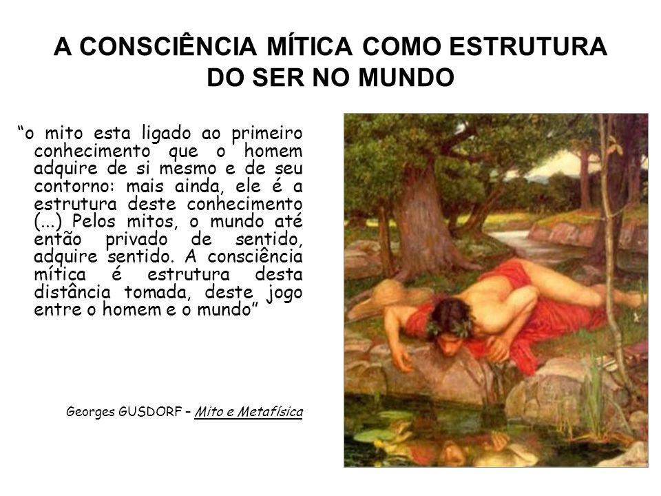 A CONSCIÊNCIA MÍTICA COMO ESTRUTURA DO SER NO MUNDO