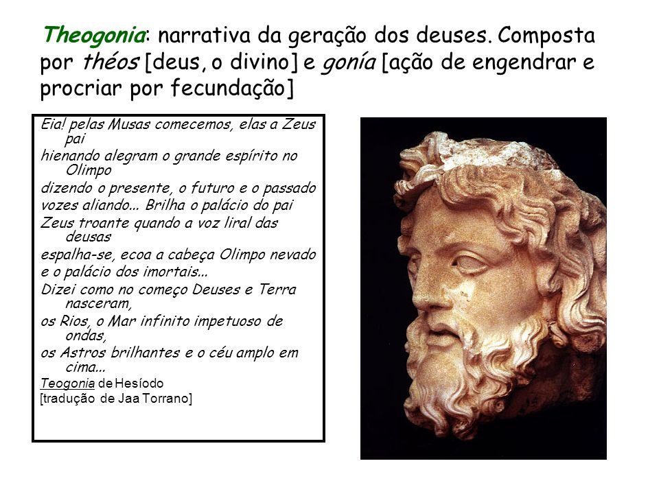 Theogonia: narrativa da geração dos deuses