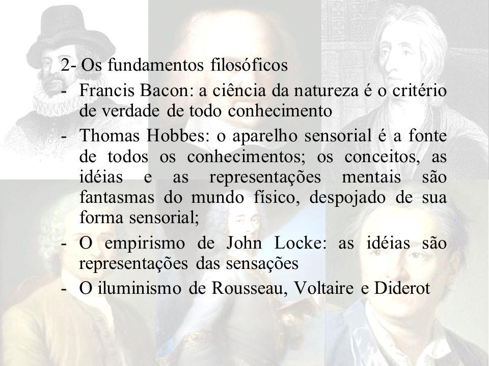 2- Os fundamentos filosóficos