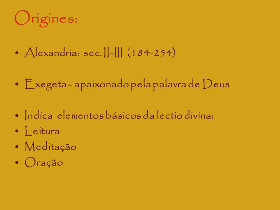 Origines: Alexandria: sec. II-III (184-254)