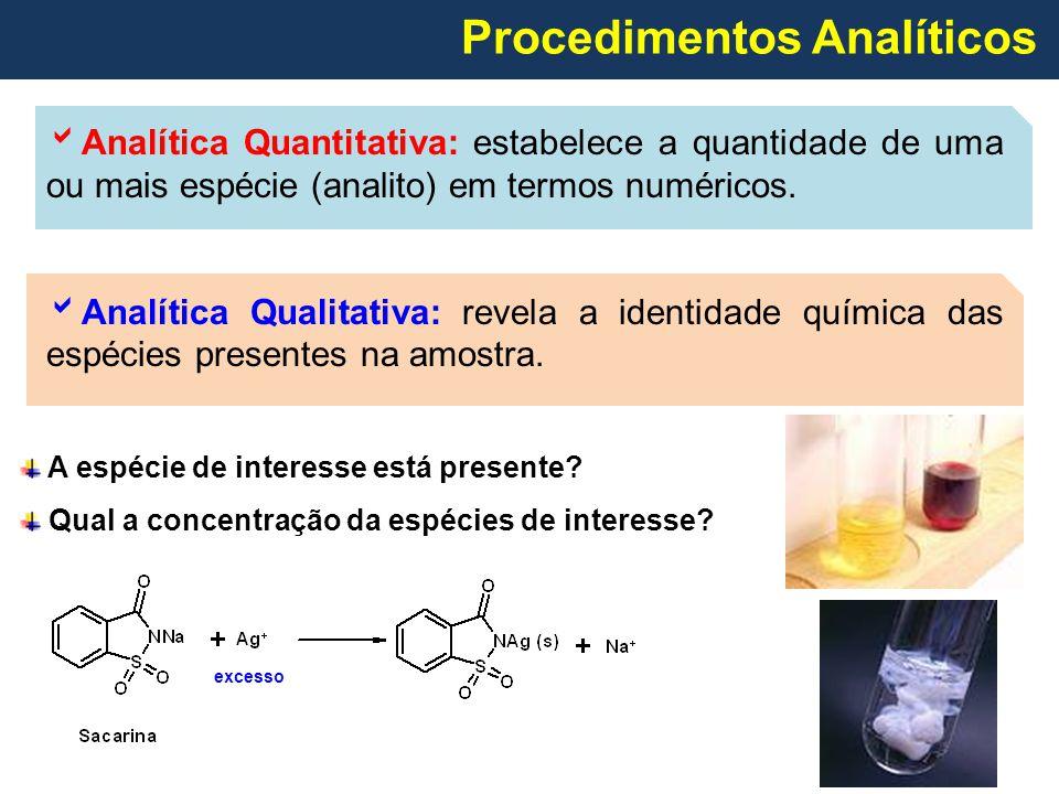 Procedimentos Analíticos