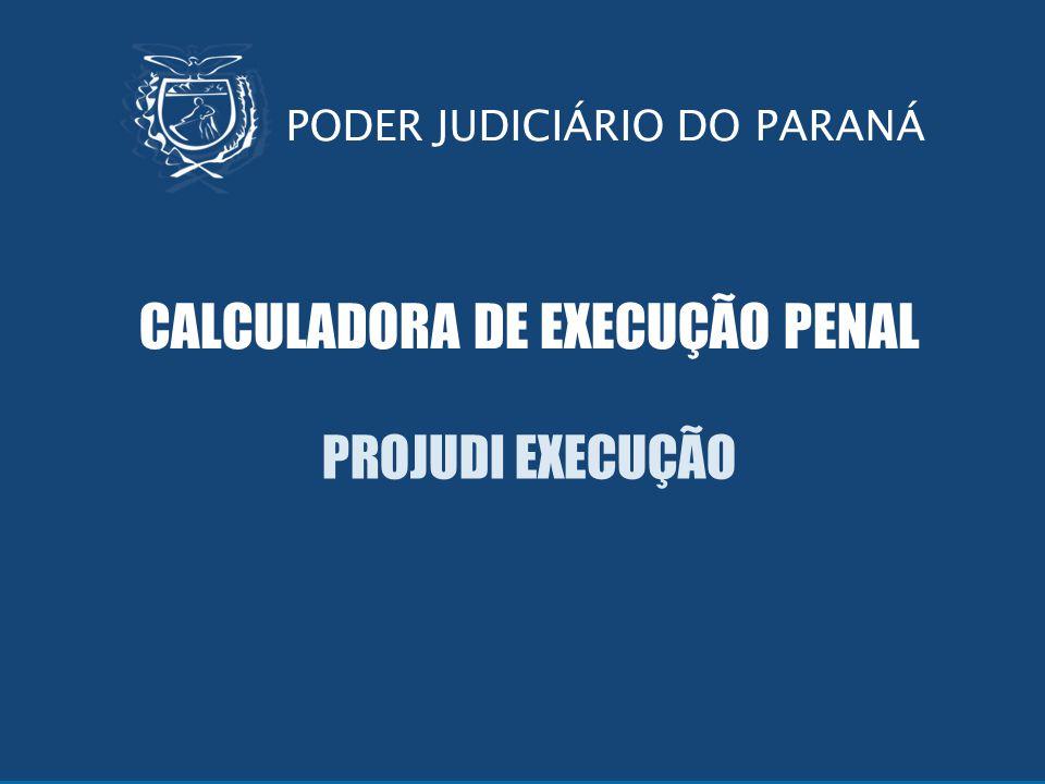 CALCULADORA DE EXECUÇÃO PENAL