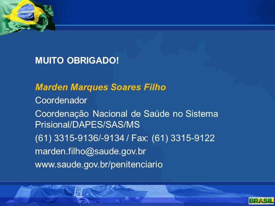 Marden Marques Soares Filho Coordenador