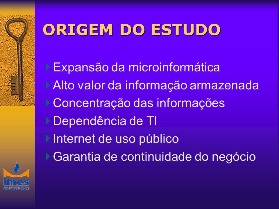 ORIGEM DO ESTUDO Expansão da microinformática