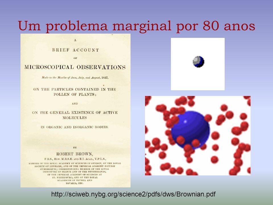 Um problema marginal por 80 anos
