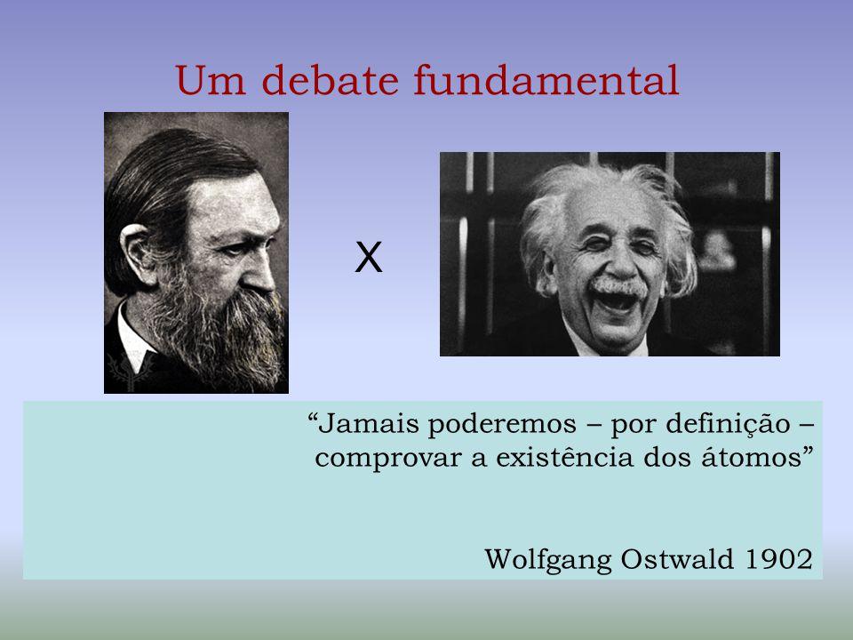 Um debate fundamental X Jamais poderemos – por definição –